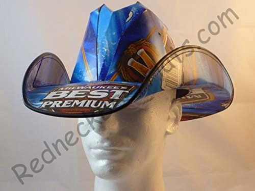 Beer Box Cowboy Hats Made From Recycled Milwauakees Best Beer Boxes Frat Nascar