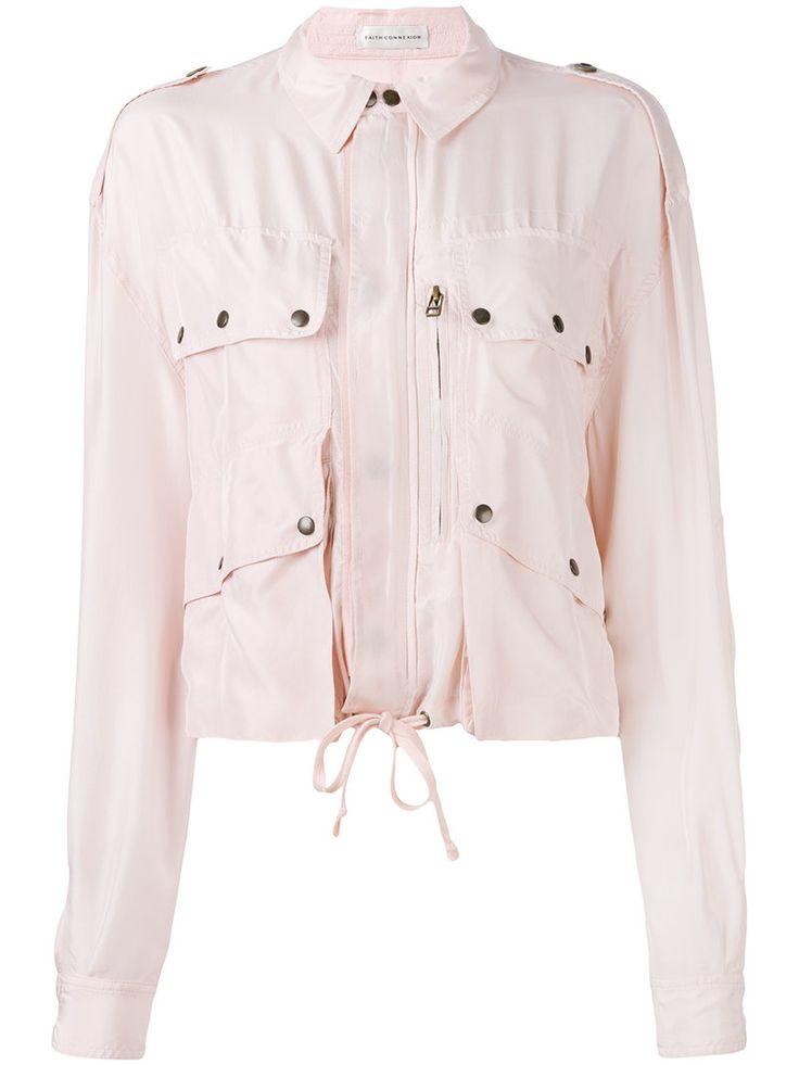 ¡Cómpralo ya!. Faith Connexion - Biker Jacket - Women - Silk - M. Light pink silk biker jacket from Faith Connexion. Size: M. Color: Pink/purple. Gender: Female. , chaquetadecuero, polipiel, biker, ante, antelina, chupa, decuero, leather, suede, suedette, fauxleather, chaquetadecuero, lederjacke, chaquetadecuero, vesteencuir, giaccaincuio, piel. Chaqueta de cuero  de mujer color rosa,púrpura de FAITH CONNEXION.