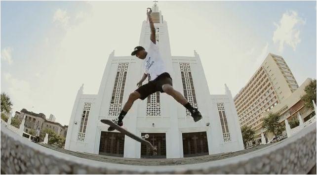 Adidas skateboarding in Maputo