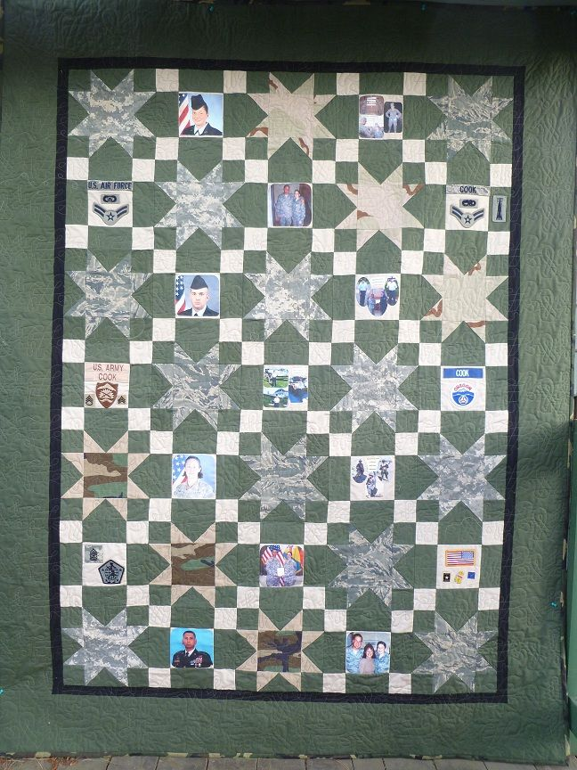 7 Best Quilts Military Images On Pinterest Patriotic