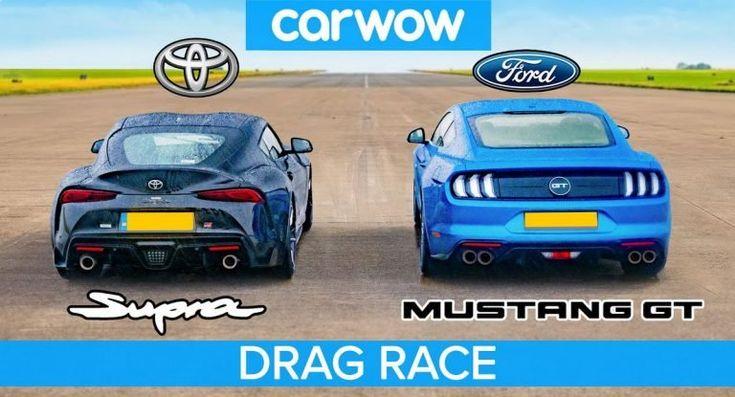 2020 Toyota Supra mit 800-US-Dollar-Tune setzt auf einen gleich starken, aber deutlich günstigeren Ford Mustang GT   – KOUNELLOS