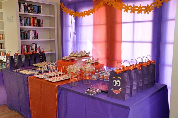 Dora The Explorer Birthday Party Birthday Ideas