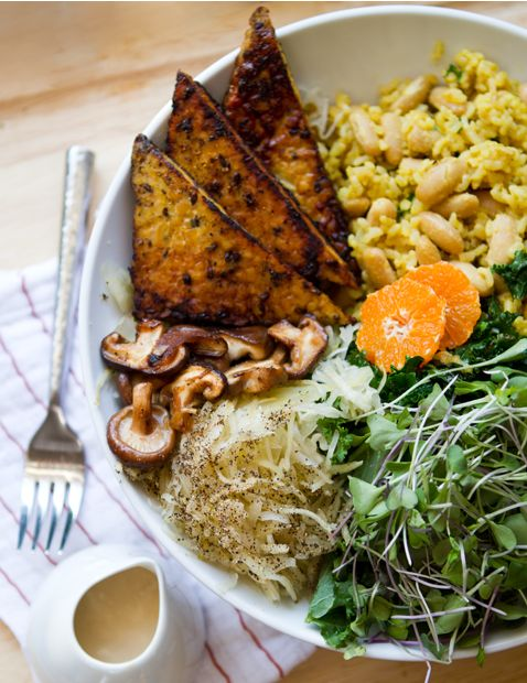 The #MacroDiet: Master the Basics of a #Macrobiotic Meal A nice article, and this looks like #dinner fit royalty!