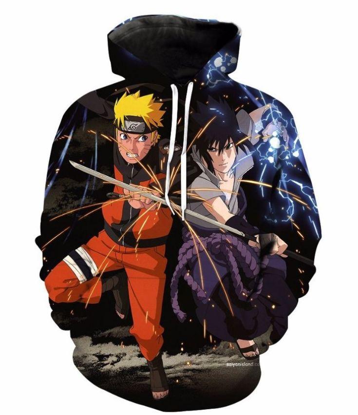 Naruto 3d street wear hoodie by wwwwesellanythingco