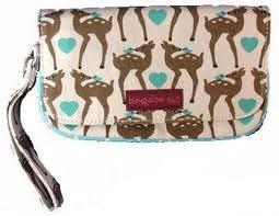 Bungalow 360 Deer Wristlet, (vegan clutch bag), via https://myamzn.heroku.com/go/B0074R2HKS/Bungalow-360-Deer-Wristlet