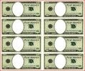 Cool templates for making fake dollar bills.  Perfect for my economics lesson!