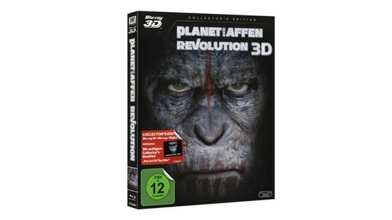 [Angebot] Planet der Affen  Revolution [3D Blu-ray] [Collectors Edition] für 10