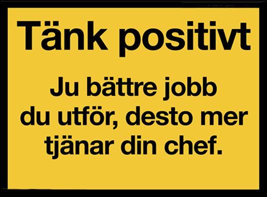 Tänk positivt | detBästa.info - foton, bilder, texten