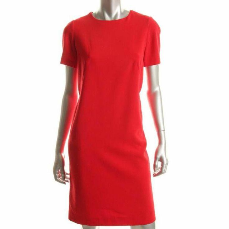 Jones New York Red Sheath Dress, 14, $52.00CAD + shipping (Reg. $139.00) http://stylenstuff.ca/products/jones-new-york-red-sheath-dress-14