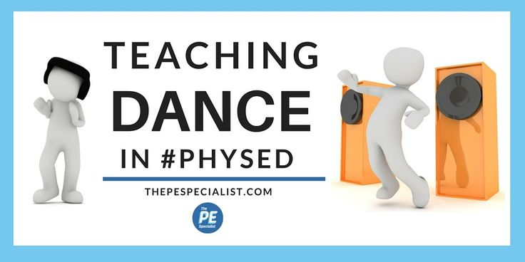 Great ideas for teaching dance in Elementary Physical Education - Free download of dance steps