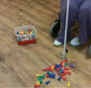 Peg Board Activities to use in skilled nursing and long term care