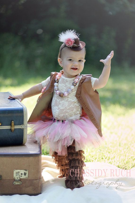 "Cowgirl Halloween Costume - ""Tutu Cute"" Couture Cowgirl Costume - Girl Toddler Baby Infant Newborn Halloween Costume on Etsy, $58.00"