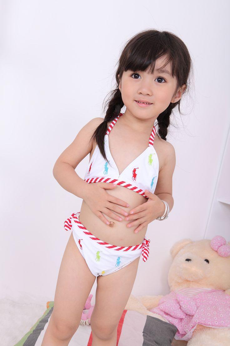 Мода бренд дети купальники белые девушки бикини с крышкой летние детей купальник из двух частей