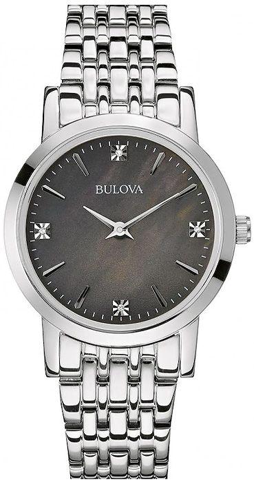 Zegarek damski Bulova Diamond 96P148 - sklep internetowy www.zegarek.net