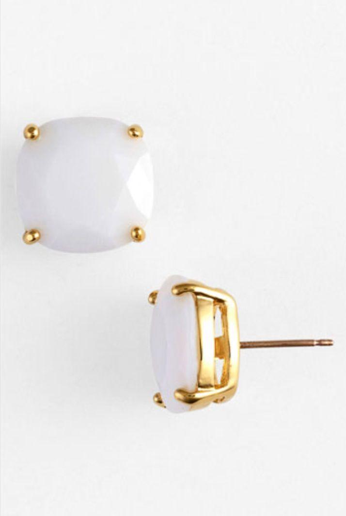 I adore Kate Spade earrings