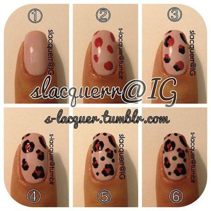 leoparden nägel selber machen 5 besten
