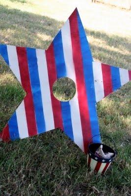 Patriotic Bean Bag toss