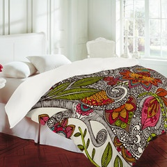 colorful duvet covers and shower curtains