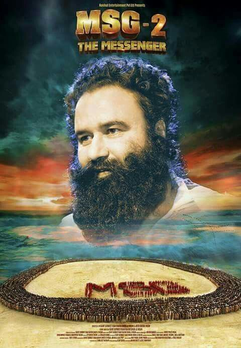 MSG -2 The Messenger movie first poster starring Saint Dr.MSG !!