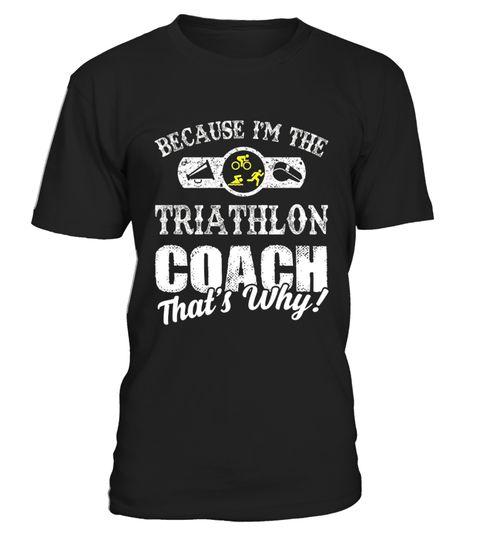 I'm the Triathlon Coach Shirt Gift for 9