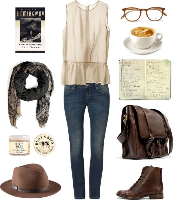 Outfit for Saturday morning at the coffee shop
