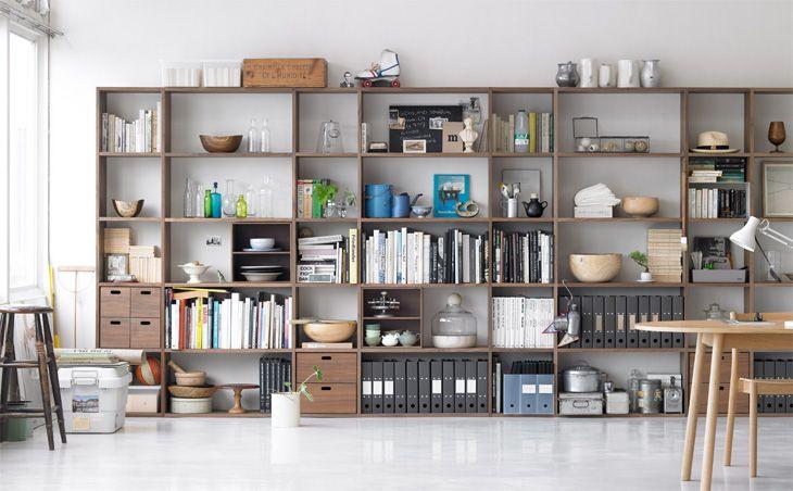 muji walnut shelves 1