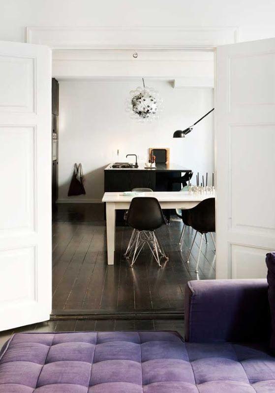STIL INSPIRATION: Stylish black kitchen