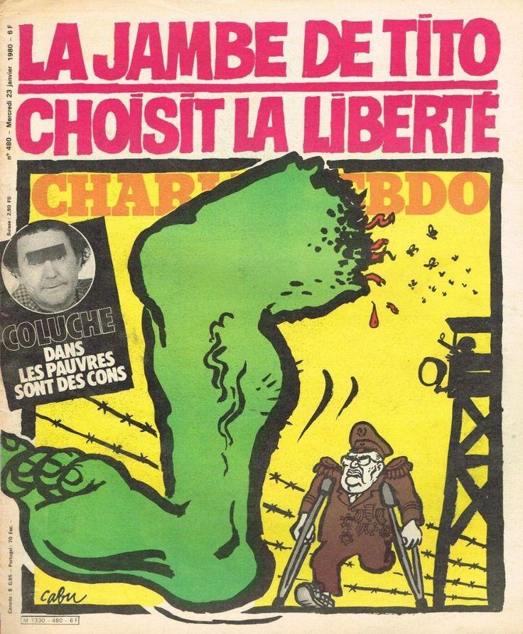Charlie Hebdo - # 480 - 23 Janvier 1980 - Couverture : Cabu