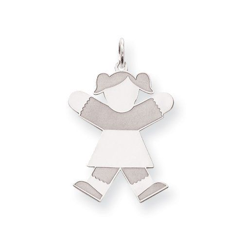 Sterling Silver Kid Charm Real Goldia Designer Perfect Jewelry Gift goldia. $25.24