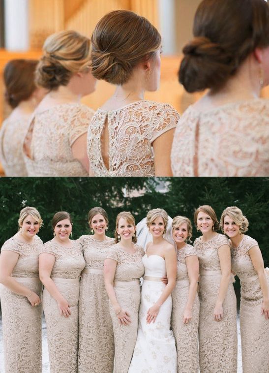 Flattering Bridesmaid Dresses For All Body Types
