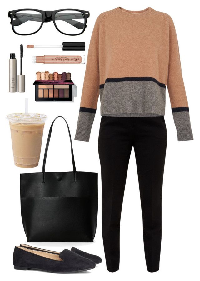 """Clark Kent or Kara Danvers?"" by thelizzielou ❤ liked on Polyvore featuring Ted Baker, Whistles, ZeroUV, H&M, Street Level, Anastasia Beverly Hills and Ilia"