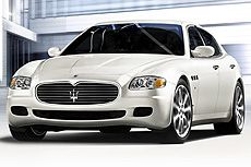 """Maserati Quattroporte  It is one of the most inexpensive Italian exotic cars, and this year, it shows a traditional automatic transmission. There is the feeling where you are one of the guys in """"Entourage""""! This sells in significant quantities.  Cost: $110,600 URL: http://www.cars.com/go/advice/Story.jsp?section=top&story=top100K&subject=more"""