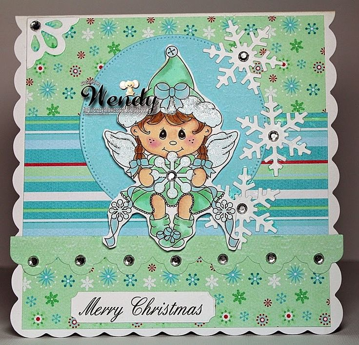 Digital Delights - Snowflake Shelly