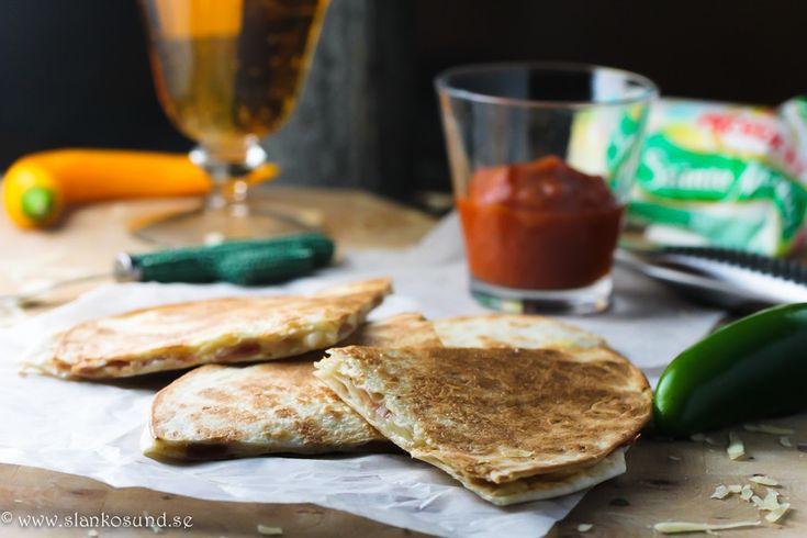 Parma Och Getost Quesadillas #texmex #slankosund #food #mat #recept #recipe #recette