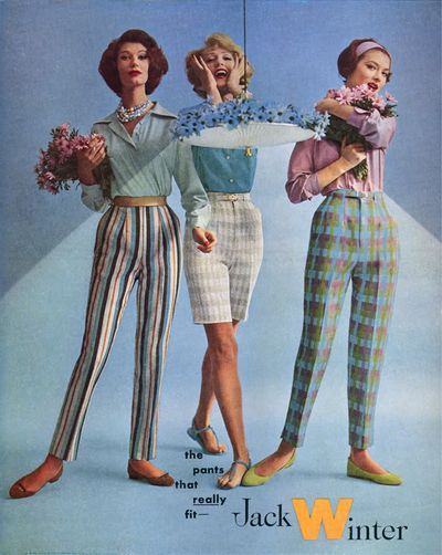 Mid Mod Jack Winter Pants Ad 1959 Fashion History Pinterest Mom Jack O 39 Connell And Pants