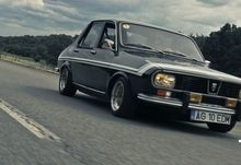 black retro tuning dacia 1300 2868x1443 wallpaper Art HD Wallpaper