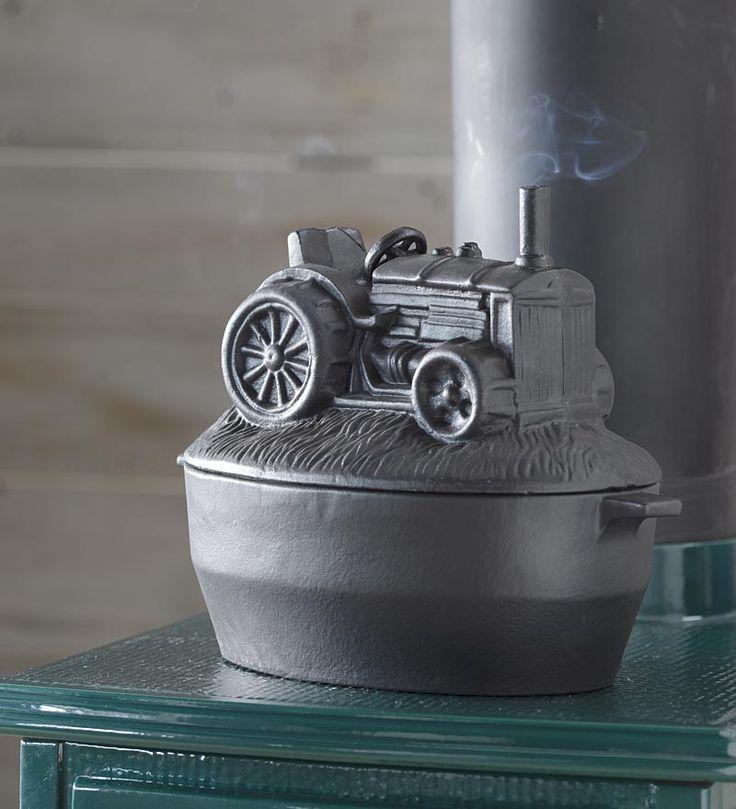 Tractor Cast Iron Steamer