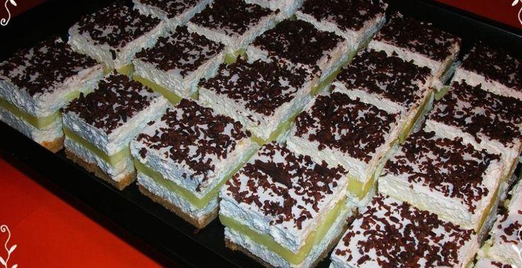 Emeletes élvezet – Sütés nélküli finomság, lehűtve a legfinomabb. Vigyázat! Gyorsan elfogy!