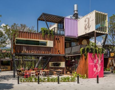 """Check out this @Behance project: """"CONTENEDORES. Food PLace"""" https://www.behance.net/gallery/14440893/CONTENEDORES-Food-PLace"""