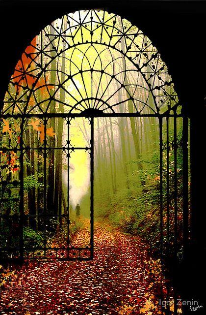 Gates of autumn • photo: Igor Zenin on Samsays