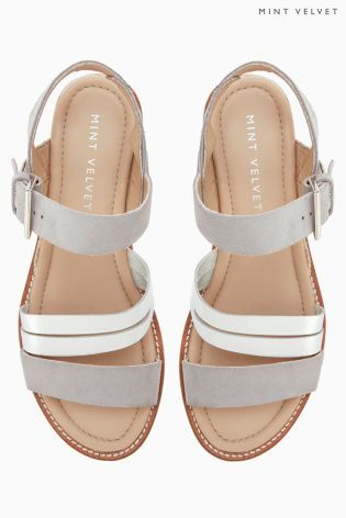 Buy Silver Mint Velvet Sandal from the Next UK online shop