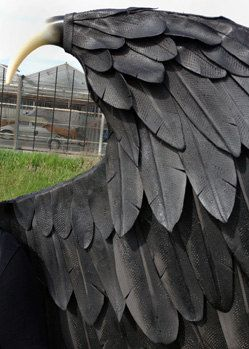 Large Maleficent Cosplay Wings. Eco & animal von TentacleStudio