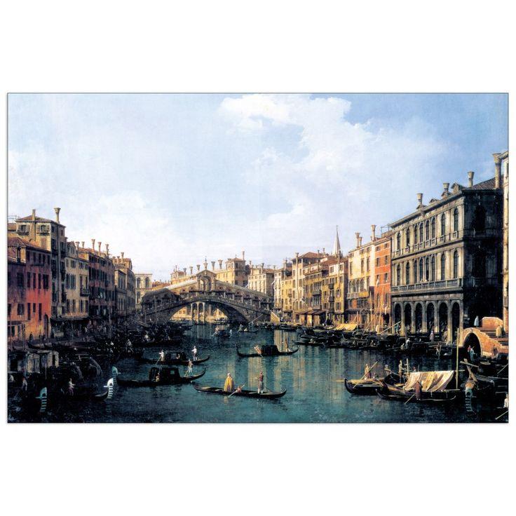 CANALETTO - RIALTO BRIDGE (140x92 cm / 100x66 cm) #artprints #interior #design #art #prints   Scopri Descrizione e Prezzo http://www.artopweb.com/EC14927