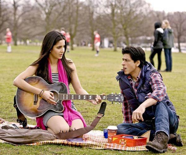 Shahrukh Khan and Katrina Kaif - Jab Tak Hai Jaan (2012)  Source: mycineworld.com