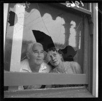 Mr and Mrs R A Beaty of Ohiro Lodge, Brooklyn, Wellington, 25 March 1963