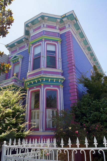 San francisco victorian painted lady painted ladies for San francisco victorian houses