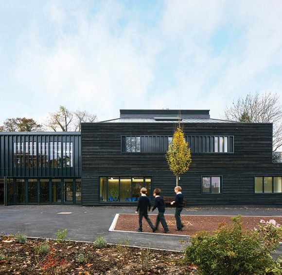 Davenies School by DSDHA wins RIBA South Award Photo © Dennis Gilbert
