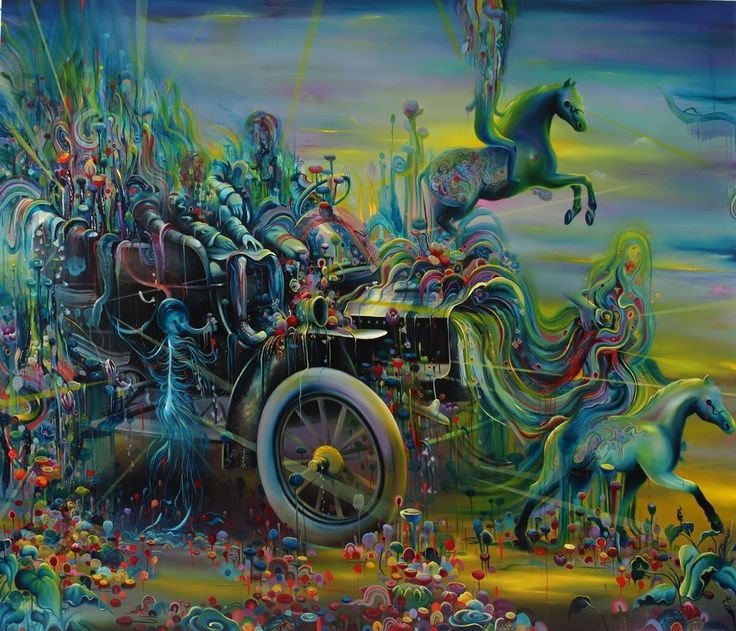"""Oil Painting by Artist: Michael Page A Walk Into Life Oil on Canvas, 30x36"""""""