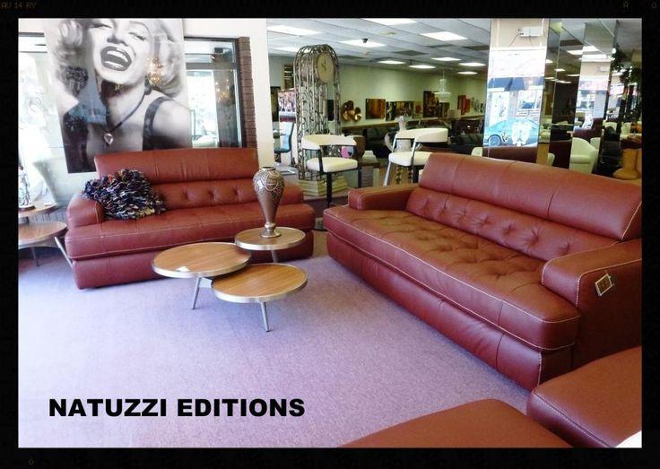 Summer furniture sales 2015 natuzzi editons tufted cognac leather sofa b748 call interior - Natuzzi vancouver ...