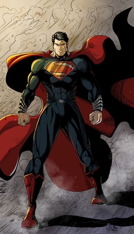 Superman - Man of Steel by ~Moislopez and ~SandraMJ